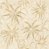 Floral decorative pattern - Interior wallpaper vector illustration