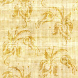 Floral decorative pattern - papyrus texture - seamless backgroun. D Stock Photo