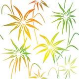 Floral decorative pattern. Seamless pattern. Stock vector. Seamless pattern. Stock Photography