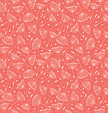 Floral decorative pattern. Seamless retro texture Royalty Free Stock Photography