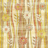 Floral decorative pattern - waves decoration - seamless background Stock Photography