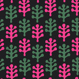 Floral decorative texture  Pattern with decorative leafs  Abstract stylish background Royalty Free Stock Photo