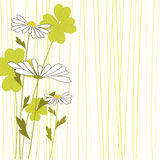 floral decorative vector Royalty Free Stock Images