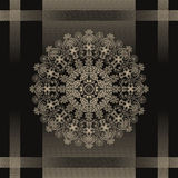Floral desifn radial Stock Images