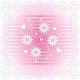 Floral Design. An illustration of a floral design Vector Illustration