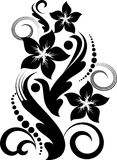 Floral design. Beautiful floral designfor different aplications Stock Image