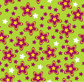 Floral design   background. Floral design vector seamless background Royalty Free Stock Photo