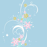 A floral Design Background Royalty Free Stock Photos