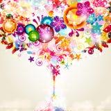 Floral design background. Stock Photos