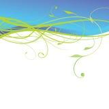 Floral design background. Illustraion of floral design background Stock Photo