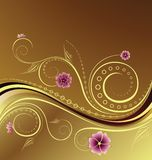 Floral Design Background Royalty Free Stock Photo