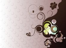 Floral Design Background Royalty Free Stock Photography