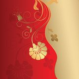 Floral Design Background Royalty Free Stock Images