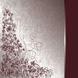 Floral design background. Illustration of floral design background Royalty Free Stock Photography