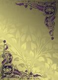 Floral design background. Illustration of floral design background Stock Photos