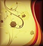 Floral design background royalty free illustration
