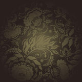 Floral design dark Royalty Free Stock Photography