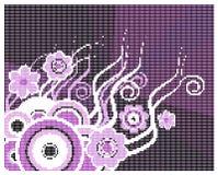 Floral design digital Royalty Free Stock Photos