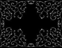 Floral design. Digital artwork. Swirls Stock Photos