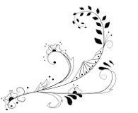 Floral design element Stock Photo