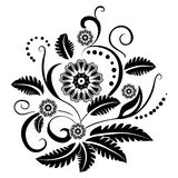 Floral design element Royalty Free Stock Photography