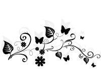 Floral design element. Stock Images