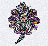 Floral design element renaissance style Royalty Free Stock Photo
