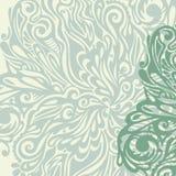 Floral design element vintage style Royalty Free Stock Image