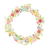 Floral design element Royalty Free Stock Image