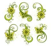 Floral Design Elements Stock Photo