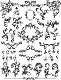 Floral Design Elements. Illustration of floral design elements Stock Images