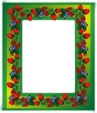 Floral design frame photo Stock Image
