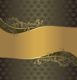 Floral Design, Green Pattern Royalty Free Stock Photo