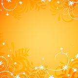 Floral design. Illustration of an Abstract Floral Background Stock Image