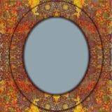Floral design indian motif Stock Photos