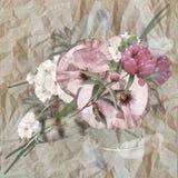 Floral design iris, bouquet Stock Photo