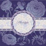 Floral design lilac Stock Photos