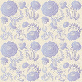 Floral Design Lilac On Beige Background Royalty Free Stock Photo