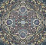 Floral design oriental pattern background Stock Photo