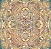 Floral design oriental pattern background Royalty Free Stock Images