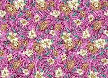 Floral design pattern Royalty Free Stock Photos