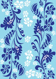 Floral design pattern vector Stock Images