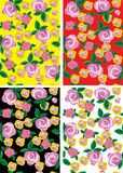 Floral design seamless. Background Royalty Free Stock Photo