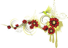 Floral design series Stock Photos