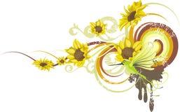 Floral design series Stock Photo