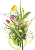 Floral design series Stock Photography