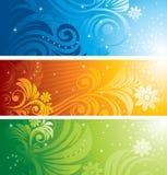 Floral Design Set Stock Images