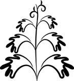 Floral design tattoo Stock Photo