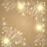 Floral design in a tender colors. For your website design, fabric, paper, Polygraphy Stock Photos