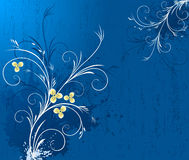 Floral design vector stock image